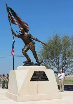 Chris Kyle Monument Dedication