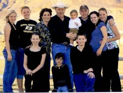 The Payne Family, Spring 2007.  Top Row L-R: Jordyn, Presley, Ang, Vic, Dillon, Dusty, Tammy (Brody hasn't made his appearance yet), Erica; Bottom Row L-R: Victoria Rose, Ciara and Tyler